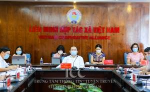 Chủ tịch Nguyễn Ngọc Bảo chủ trì Hội nghị giao ban đánh giá công tác tháng 5/2021 và triển khai nhiệm vụ công tác tháng 6/2021