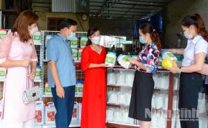 Ninh Bình: Ra mắt HTX dịch vụ thương mại và sản xuất tinh bột Thu Lộc