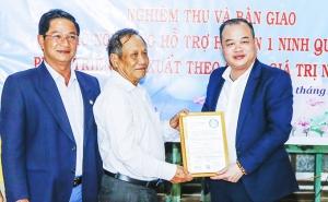 Hợp tác xã Nông nghiệp 1 Ninh Quang: Nhận gói hỗ trợ trị giá 320 triệu đồng