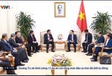 Tiếp đón đoàn ngoại giao Lào