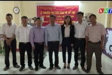 Liên minh HTX Việt Nam bàn giao thiết bị hỗ trợ cho HTX Sáu Nhung( Kon Tum)