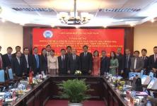 VCA tiếp và làm việc với đoàn công tác Viện nghiên cứu Kinh tế quốc gia Đảng nhân dân cách mạng Lào