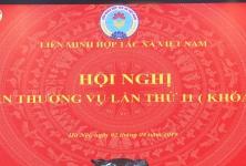 Chủ tịch Nguyễn Ngọc Bảo chủ trì Hội nghị Ban Thường vụ lần thứ 11, khóa V