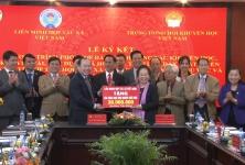 Liên minh HTX Việt Nam và Hội khuyến học Việt Nam ký kết chương trình phối hợp