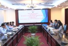 Chủ tịch Nguyễn Ngọc Bảo tiếp và làm việc với Ngân hàng ING tại Việt Nam