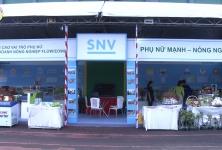 Tổ chức phát triển Hà Lan SNV hỗ trợ các HTX/DN do nữ giới quản lý, điều hành tham gia Hội chợ xúc tiến thương mại HTX năm 2019