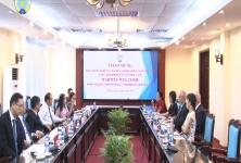 Chủ tịch Nguyễn Ngọc Bảo làm việc với Liên đoàn HTX Đức DGRV