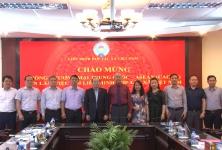 Chủ tịch Nguyễn Ngọc Bảo làm việc với ông Tôn Nham- Phó Chủ tịch Phòng TM và NN Trung Quốc Asean