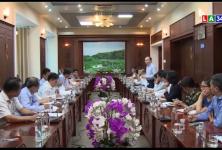 Chủ tịch Liên minh Hợp tác xã Việt Nam làm việc tại tỉnh Long An