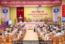 Đại hội Liên minh HTX tỉnh Kiên Giang lần thứ VI, nhiệm kỳ 2020 - 2025