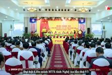 Đại hội Liên minh HTX tỉnh Nghệ An lần thứ VI, nhiệm kỳ 2020 - 2025