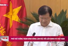 Phó Thủ tướng Trịnh Đình Dũng làm việc với Liên minh HTX Việt Nam