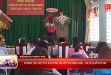 Thành lập hợp tác xã nông nghiệp Thương mại - Dịch vụ Vĩnh Tâm - Đồng Nai