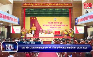 Đại hội Liên minh HTX tỉnh Đồng Nai lần thứ VI, nhiệm kỳ 2020 - 2025