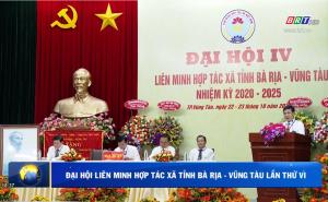 Đại hội Liên minh HTX tỉnh Bà Rịa - Vũng Tàu lần thứ VI, nhiệm kỳ 2020 - 2025