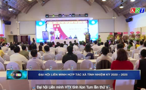 Đại hội Liên minh HTX tỉnh Kon Tum lần thứ V