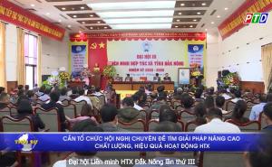 Đại hội Liên minh HTX tỉnh Đắk Nông lần thứ III, nhiệm kỳ 2020 - 2025