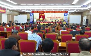 Đại hội Liên minh HTX tỉnh Quảng Trị lần thứ V, nhiệm kỳ 2020 - 2025