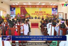 Đại hội Liên minh HTX tỉnh Tuyên Quang lần thứ VI, nhiệm kỳ 2020 - 2025