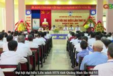 Đại hội Liên minh HTX tỉnh Quảng Bình lần thứ VI, nhiệm kỳ 2020 - 2025