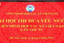 Đại hội Thi đua yêu nước hệ thống Liên minh HTX Việt Nam