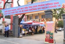 Liên minh HTX Hà Nội triển khai điểm bán hàng hỗ trợ các HTX tỉnh Hải Dương