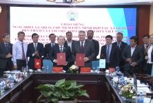 Chủ tịch Nguyễn Ngọc Bảo tiếp và làm việc với ông Ariel Guarco – Chủ tịch Liên minh HTX Quốc tế