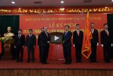 Liên minh HTX Việt Nam đón nhận Huân chương lao động hạng Nhất