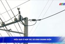 Hiệu quả ở hợp tác xã kinh doanh điện