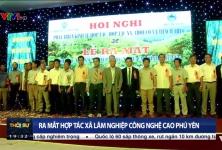 Ra mắt HTX lâm nghiệp công nghệ cao Phú Yên