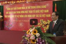 Đồng chí Trần Thanh Mẫn thăm và chúc Tết hệ thống Liên minh HTX Việt Nam