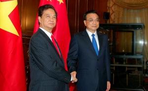 Thủ tướng Nguyễn Tấn Dũng gặp Thủ tướng Trung Quốc