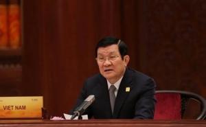 Chủ tịch nước gặp tổng thống Nga, Hàn Quốc tại APEC