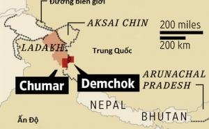 Trên nóc nhà thế giới, Trung - Ấn cạnh tranh từng tấc đất