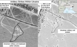 Mỹ công bố ảnh cáo buộc Nga nã pháo vào Ukraine