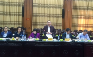 Chủ tịch Nguyễn Ngọc Bảo làm việc với UBND tỉnh Thái Bình để hỗ trợ HTX phát triển theo chuỗi giá trị