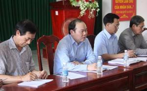 Chủ tịch Nguyễn Ngọc Bảo chỉ đạo xây dựng HTX gắn với chuỗi giá trị tại Trà Vinh
